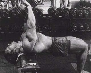 Dumbbell Pullovers - Arnold