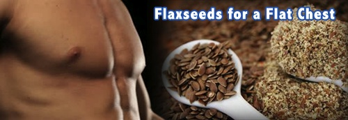 Losing Man Boobs With Flaxseeds
