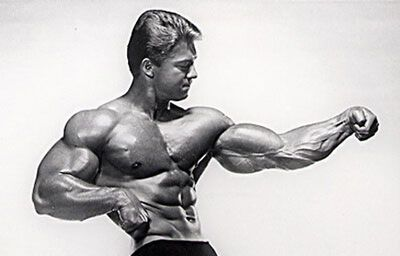 Larry Scott - Thick Upper Chest