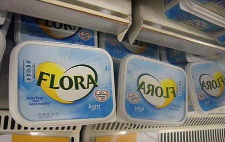 Low Fat Supermarket Shelves