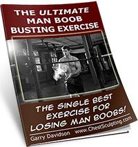 Man boob chest exercise