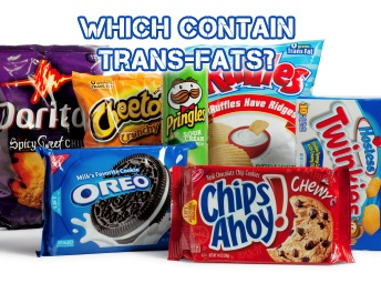 Trans-fats in processed food