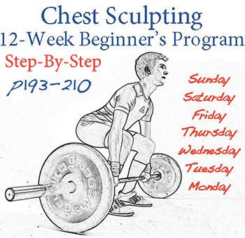 Chest Sculpting 12 Week Beginners Program