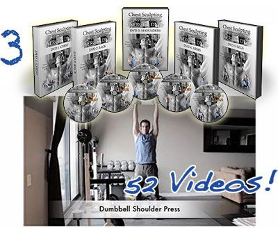 Chest Sculpting Supplemental Exercise DVD Series