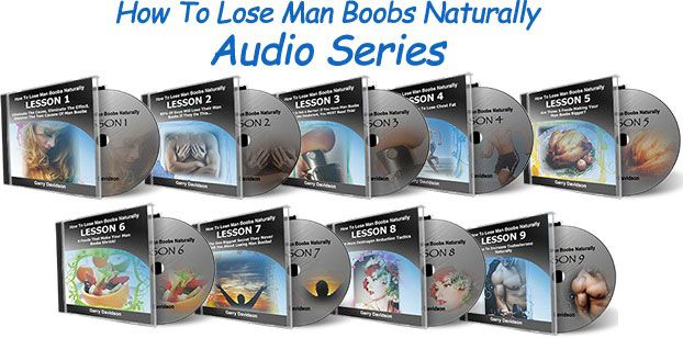 How To Lose Man Boobs Naturally Audio Series