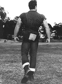 Steve Reeves Back Development