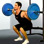 Barbell Back Squat Video