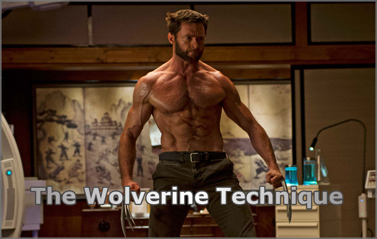 The Wolverine Technique For Losing Man Boobs