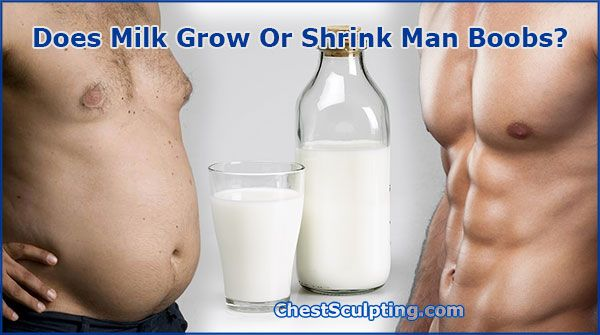 Milk And Man Boobs