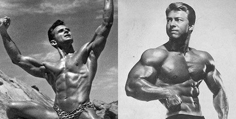 Vince Gironda And Larry Scott