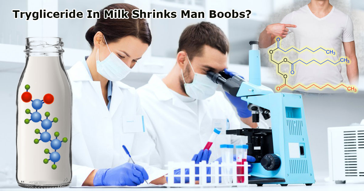 Triglyceride In Milk Shrinks Man Boobs