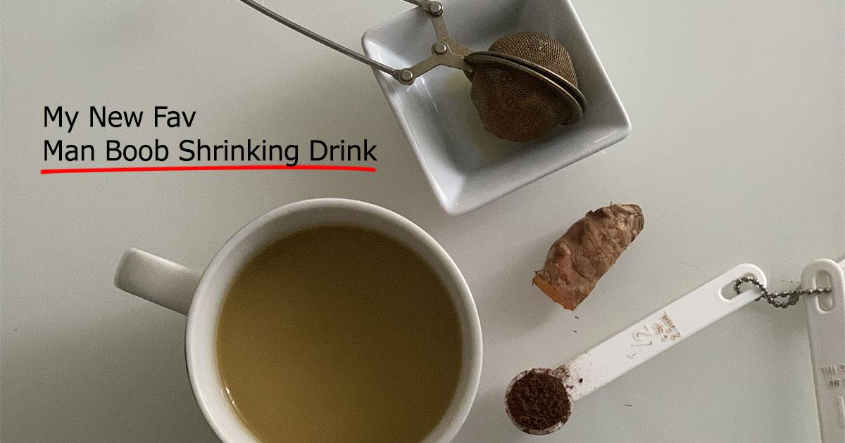 My New Fav Turmeric Drink